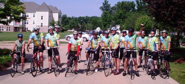 MESA Tour leaving Avon Lake Rotary rest stop