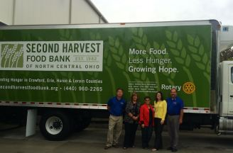 Refrig Truck for Second Harvest 2015