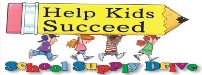 It's a School Supply Drive for Student in Need